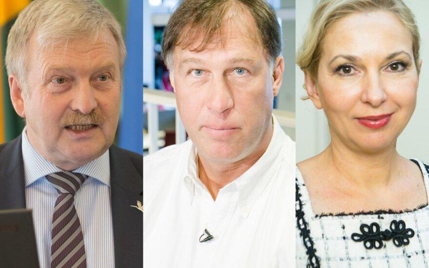 Bronis Ropė, Šarūnas Marčiulionis, Jolanta Šmidtienė