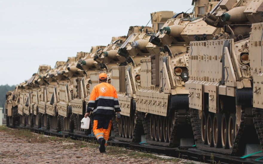 """""""Rail Baltica"""" svarbus ne tik ekonomikai, bet ir šalies saugumui/ M. Lysenko nuotr."""
