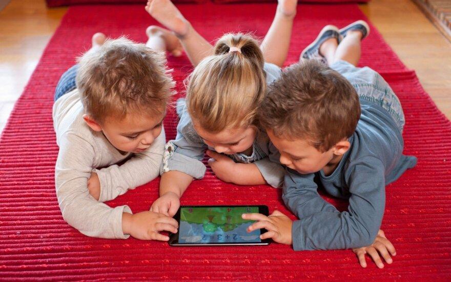 Išmanieji įrenginiai – pavojus vaiko raidai
