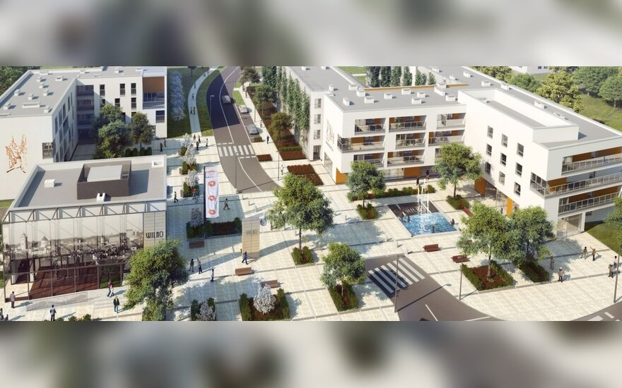 "Vilniaus rajonas Varšuvoje (vizualizacija), ""Dom Developlment"""