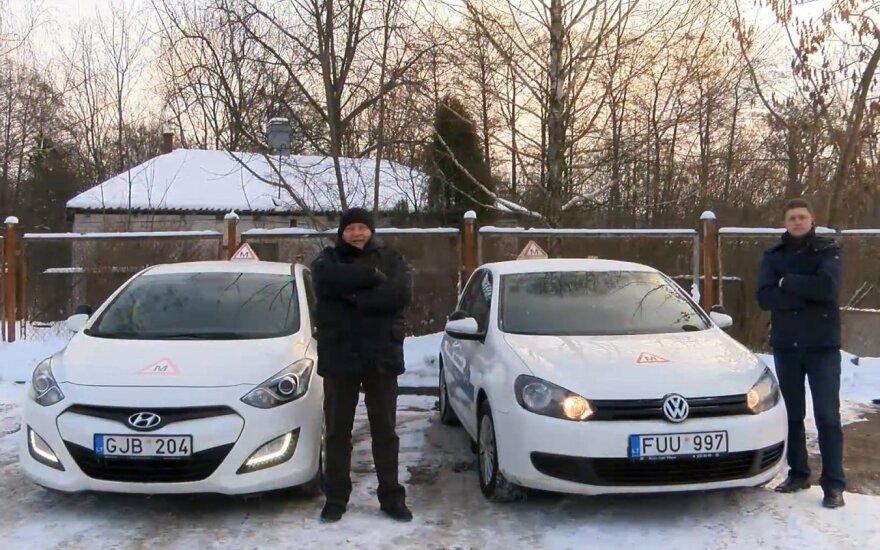DELFI eksperimentas: po lenktynių Vilniaus gatvėse – akibrokštas kelių ereliams