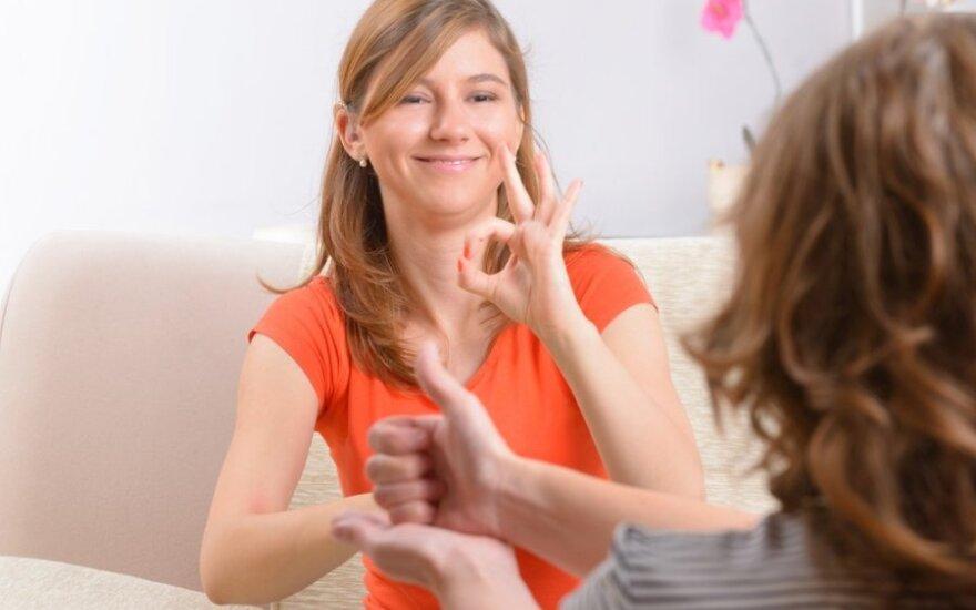 gestų kalba