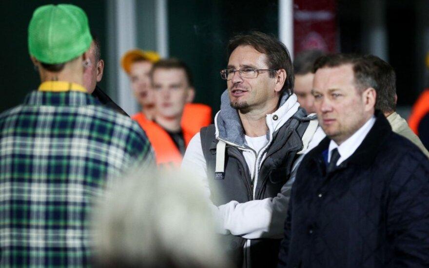 M. Mikutavičius: tebūnie LFF prezidentu A. Landau – svarbu, kad ne tas, kuris yra dabar