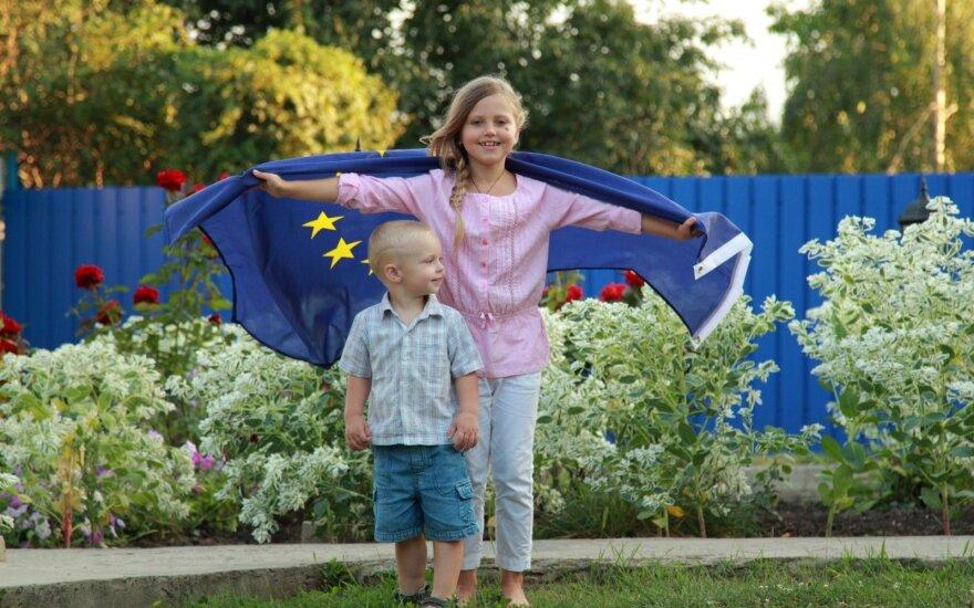 ES skaičiais: kiek turi gyventojų ir kur jų gimsta daugiausiai