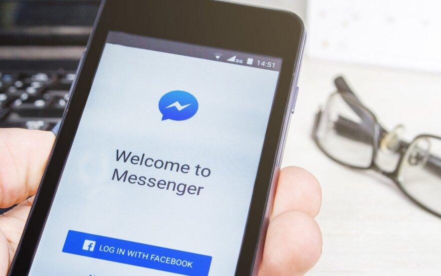 """Šniukštinėti po svetimas """"Messenger"""" žinutes greit nebepavyks: reikės """"Face ID"""" ar """"Touch ID"""""""