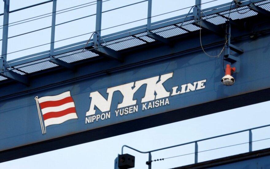 Susijungs trys didžiausios Japonijos laivybos bendrovės