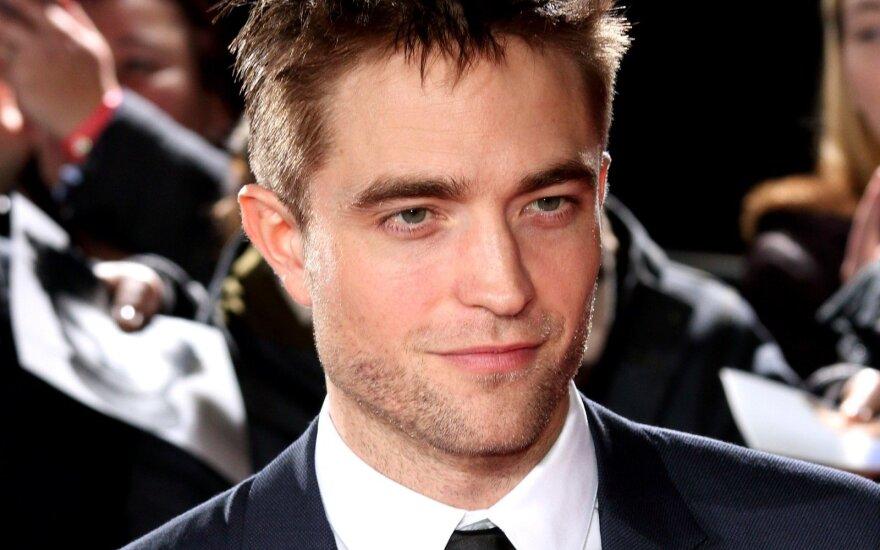 Robertas Pattinsonas - realiausias kandidatas tapti naujuoju Betmenu