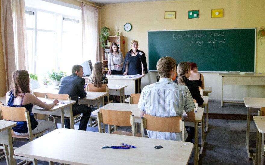 Abiturientų žinioms per egzaminus vertinti - nauja metodika