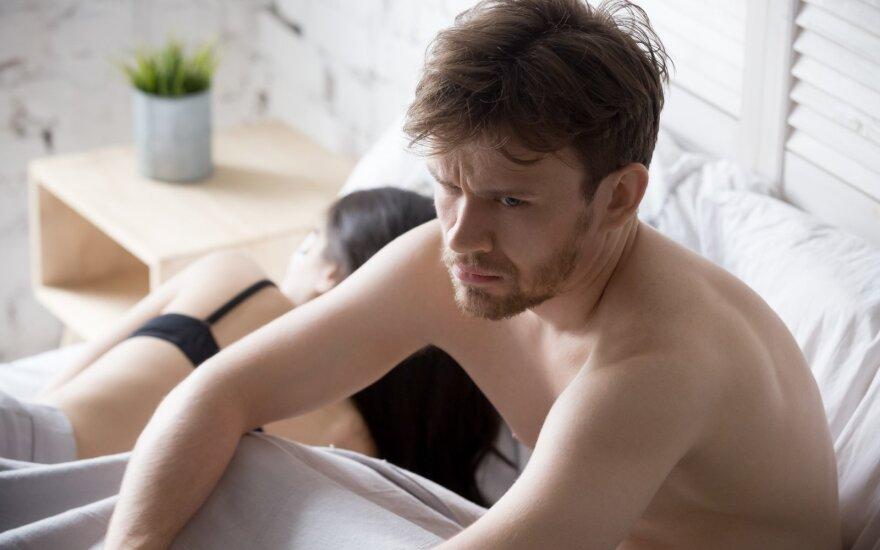 Slapčiausi vyrų troškimai lovoje: seksologė papasakojo, ko labiausiai nori ir bijo vyrai