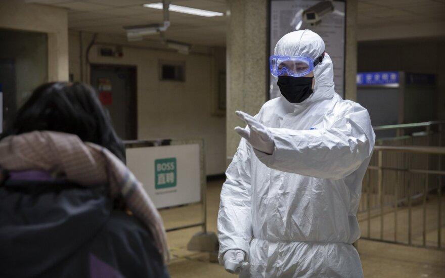 Baiminantis koronaviruso, URM rekomenduoja nevykti į centrinę Kiniją