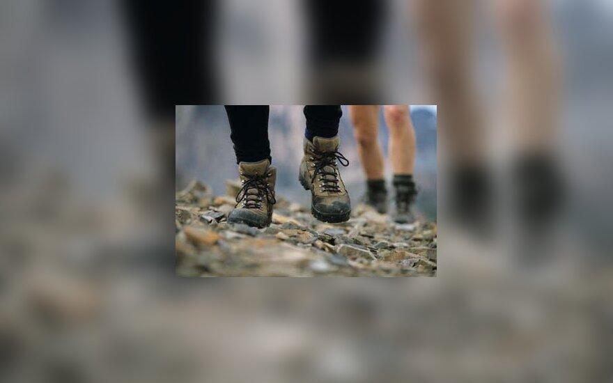 kalnai, turizmas, iškyla, eiti, kojos, sportas