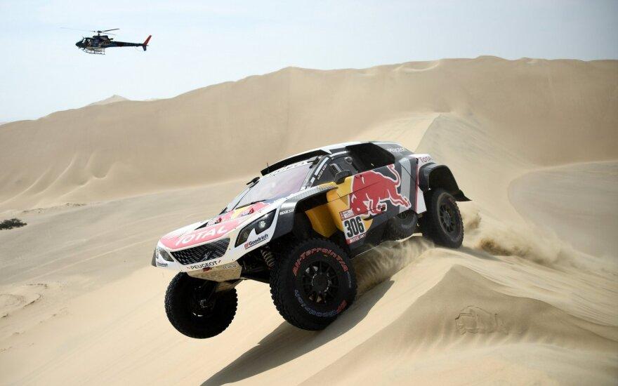 Pirmasis Dakar 2018 etapas
