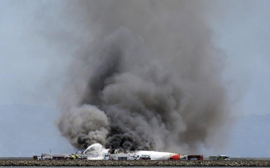 Katastrofa San Francisko oro uoste