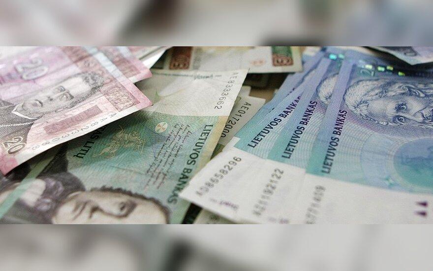 Pinigai, banknotai, finansai, valiuta, litai