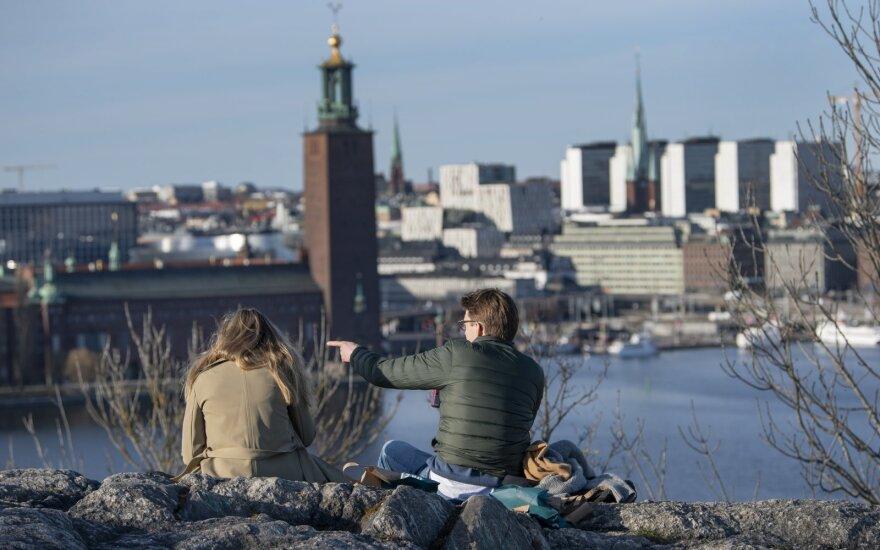 Švedijoje užsikrėtusiųjų koronavirusu skaičius viršijo 22,7 tūkstančio