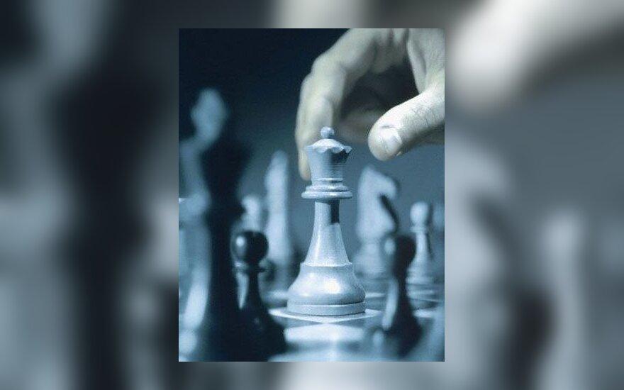 A.Kveinys pasivijo tarptautinio šachmatų turnyro Norvegijoje lyderius