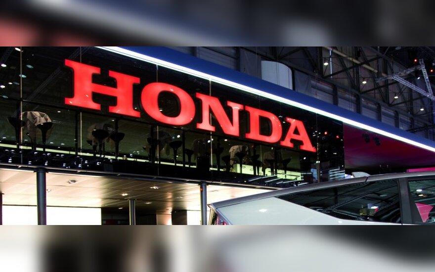 """""""Toyota"""" ir """"Honda"""" dėl detalių stokos nepradeda gamybos"""