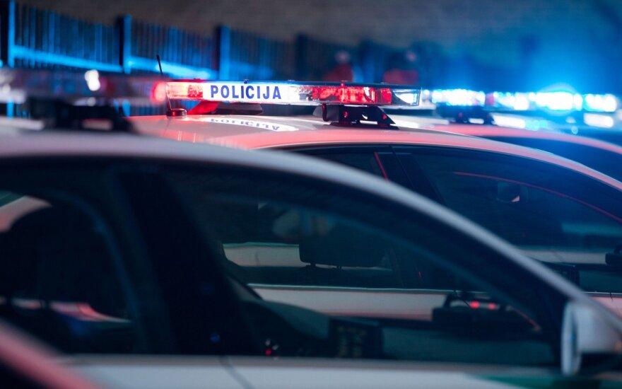 Policijos automobiliai (asociatyvi nuotr.)