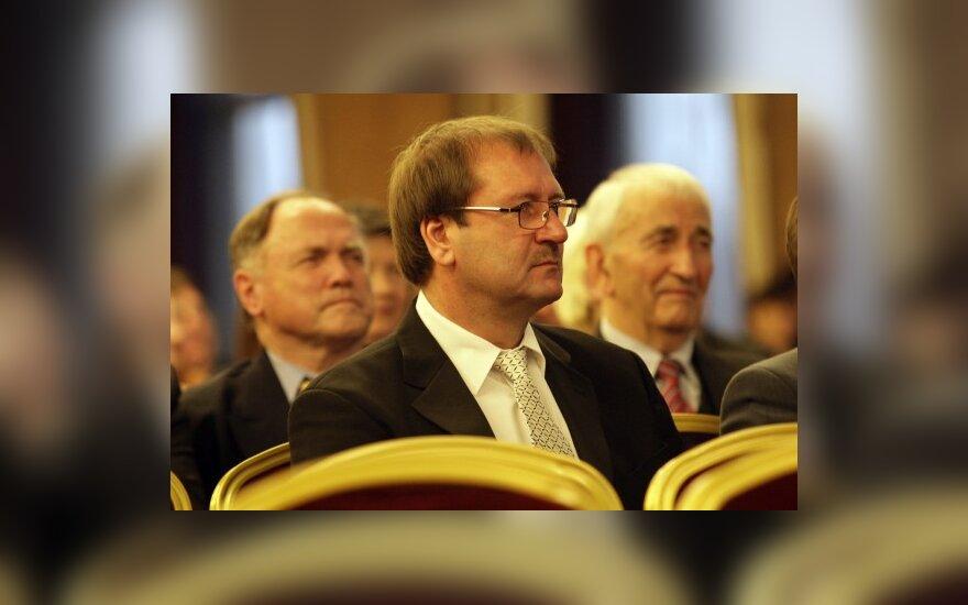 Butas Briuselyje V.Uspaskichui aktyvumo nepridėjo