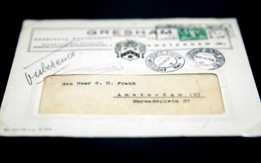 Laiškas Anos Frank tėvui