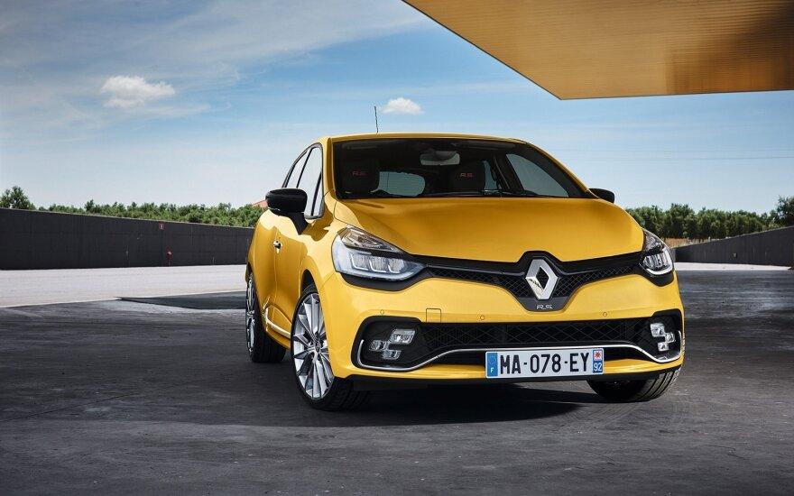 """Atnaujintas """"Renault Clio RS"""""""