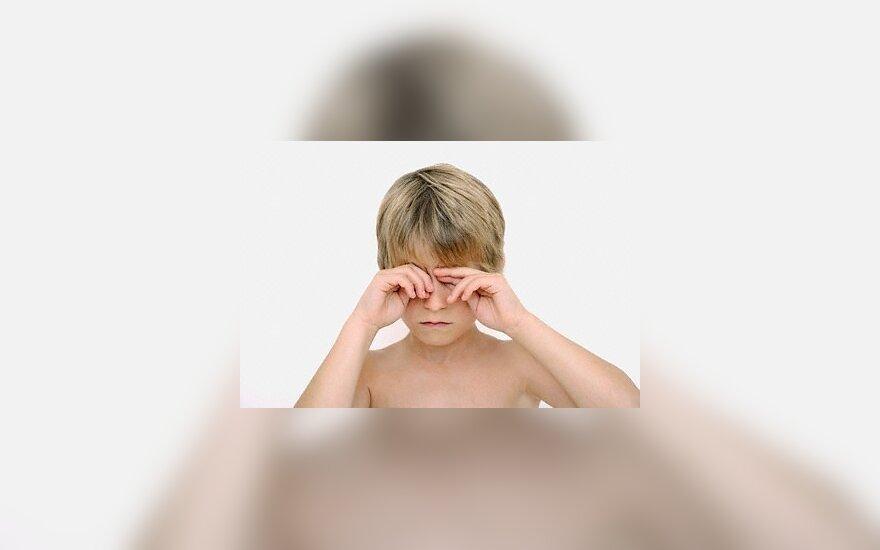 Mušamų vaikų intelektas būna žemesnis