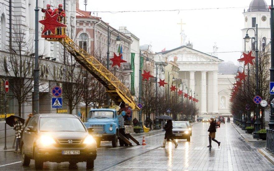 Vilnius ruošiasi Kalėdų šventėms
