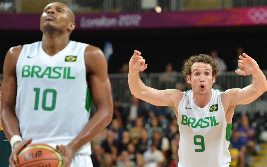 Brazilai tiesiog siautėja: sumalė į miltus ir Australijos rinktinę, su kuria žais lietuviai