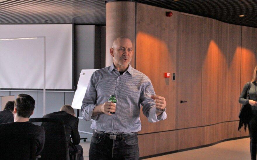 David Siegel  at the Blockchain Centre Vilnius, @ Blockchain Centre Vilnius