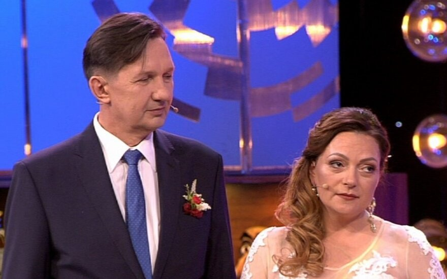 Leopoldas Malinauskas su žmona