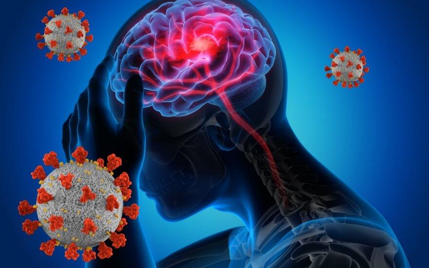 Koronavirusas veikia atmintį