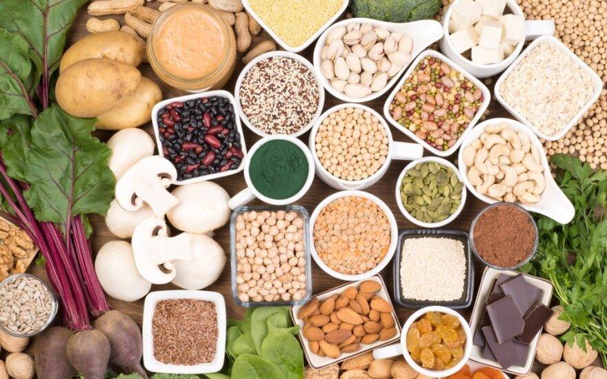 Maisto produktai, kurie turi geležies