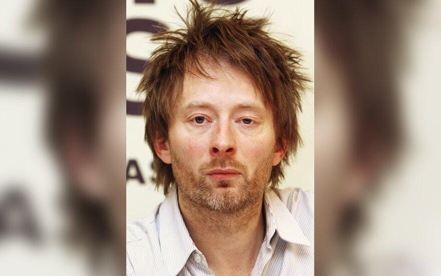 "Thomas Yorke, ""Radiohead"" vokalistas"