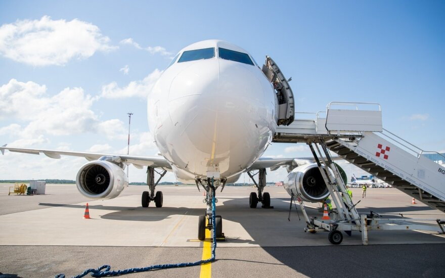 Most popular flight destinations in Lithuania: Vilnius – Riga and Paris – Moscow transit flight