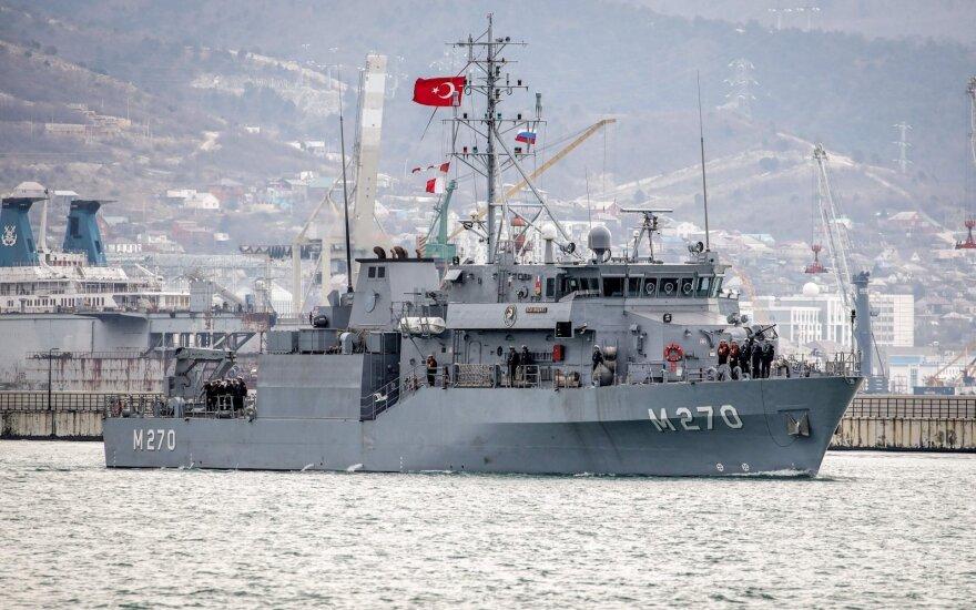 Ant Europos slenksčio bręstantis konfliktas artėja prie karščiausio taško: jau budi Turkijos jūrų pajėgos