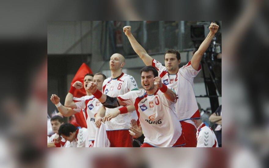 Lenkijos rankininkai šventė pergalę