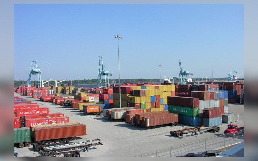 Eksportuotų prekių kainos per metus padidėjo 2,1 proc.