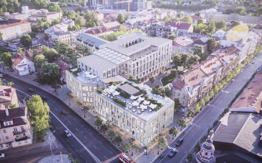 Statybų detektyvas Vilniaus centre: neteisėtai išduotas leidimas virto teisėtu