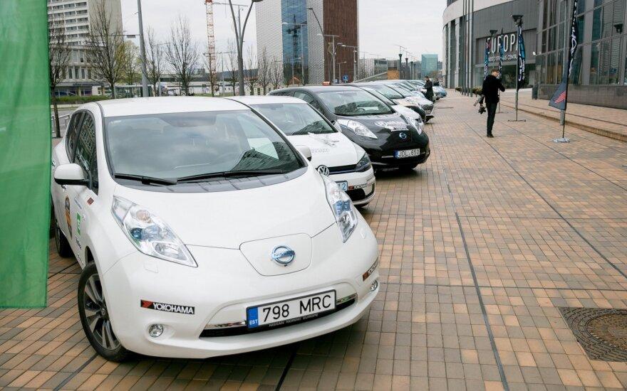 Elektromobiliai (asociatyvi nuotr.)