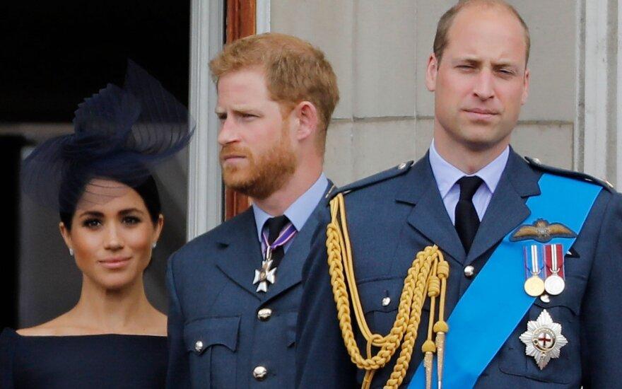 Princai Harry ir Williamas, Meghan Markle