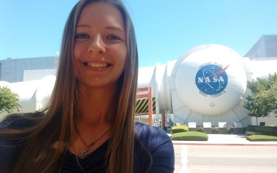 KTU studentė NASA