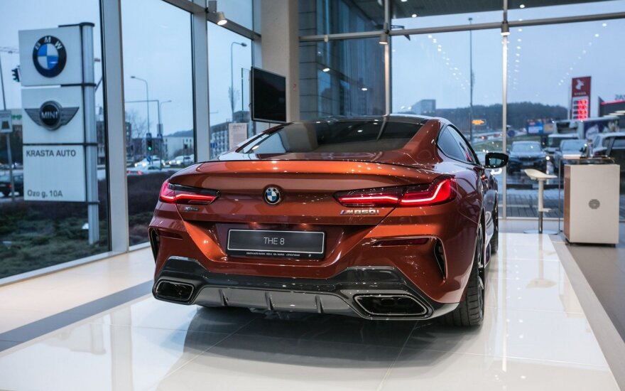 Į Vilnių atkeliavo 8 serijos BMW kupė