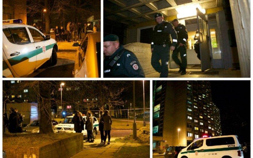 Vilniuje policija iškrėtė Saulėtekio bendrabutį: ieškoma įtariamojo