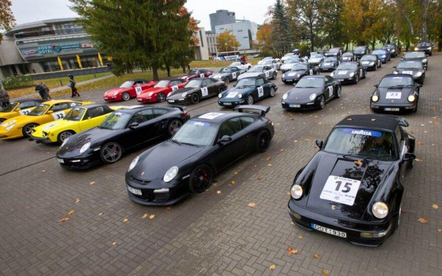 Porsche klubo Lietuva sezono uždarymas