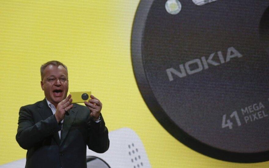"""""""Nokia Lumia 1020"""" pristatymas"""