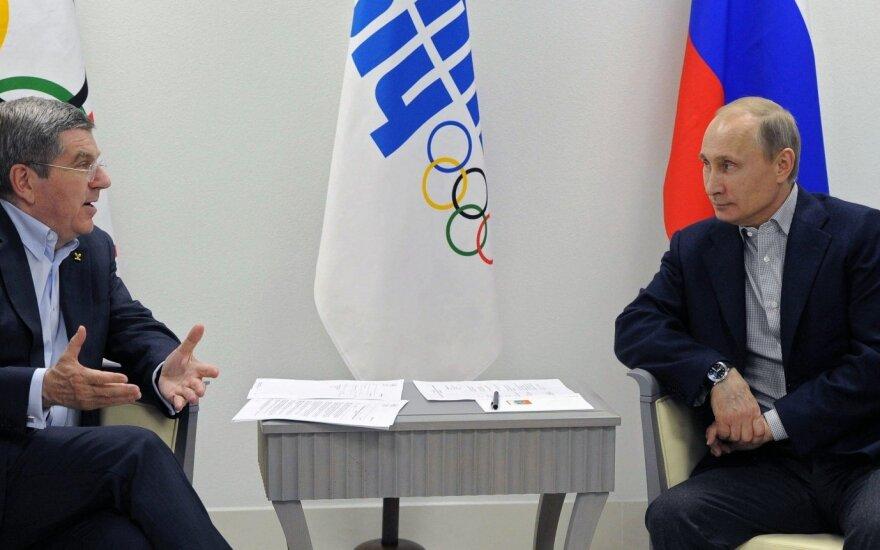 TOK paprašė laiko: atidėjo sprendimą dėl Rusijos diskvalifikacijos iš Rio