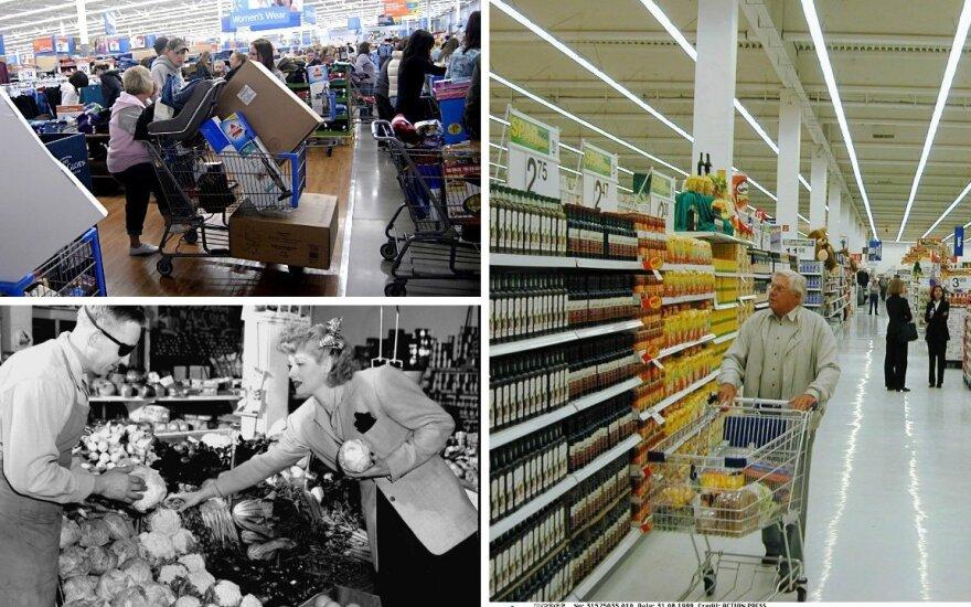 Prekybos centrų pokyčiai