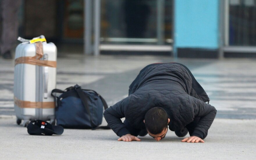 Vokietijoje smarkiai apdegė prieglobsčio negavęs iranietis