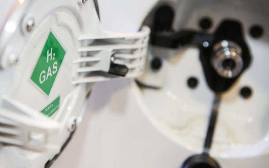 Vandenilių varomo Hyundai ix35 Fuel Cell pristatymas