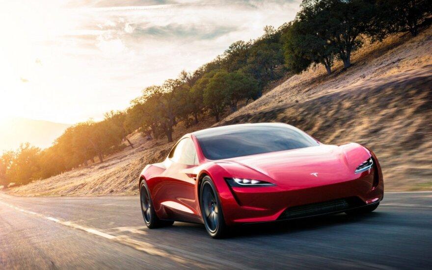 """Tesla Roadster"""